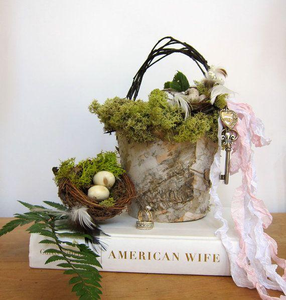 Flower Girl Baskets On Pinterest : Flower girl baskets wedding ideas
