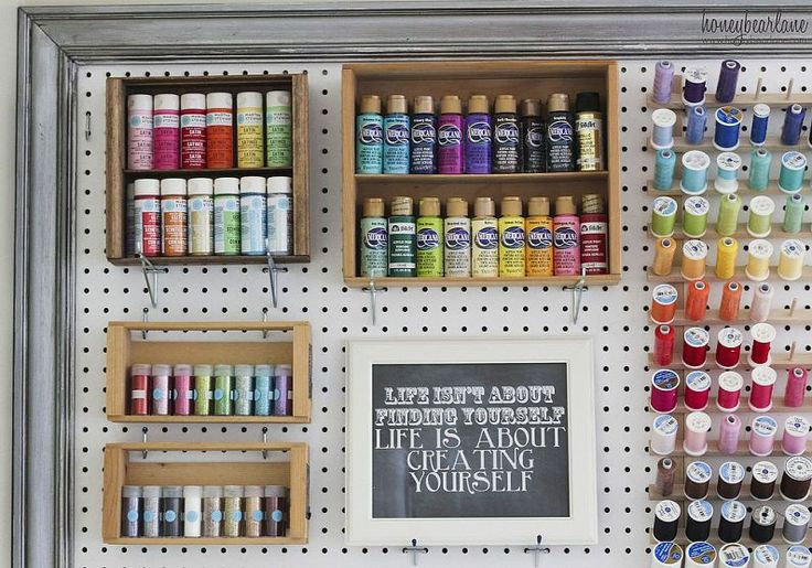 Craft Room Organization Supplies 736 x 515