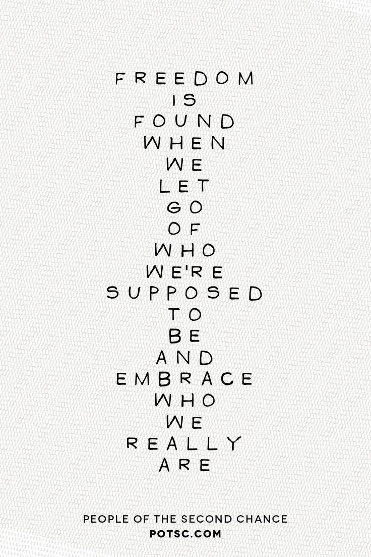 Freedom.   #potsc #courage #words #quotes