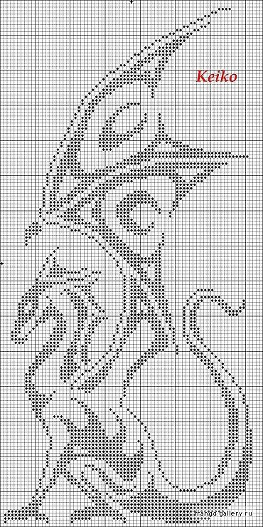 Embroidery Or Knitting Stitch Like A Knot Crossword Clue : Cross stitch Gothic cross stitch Pinterest