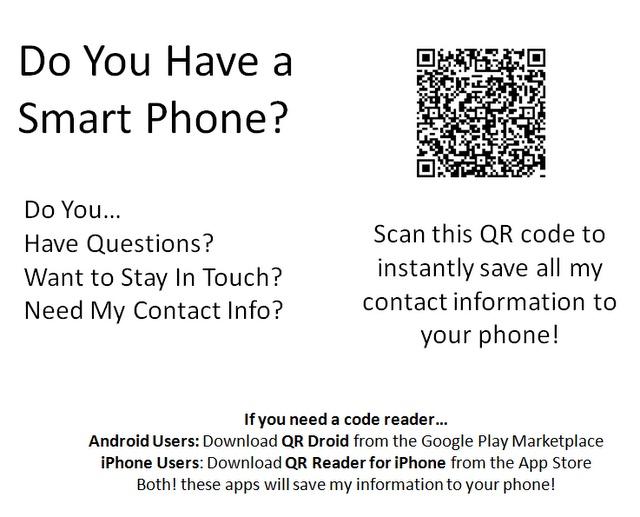 Qr code for teacher contact info teaching pinterest