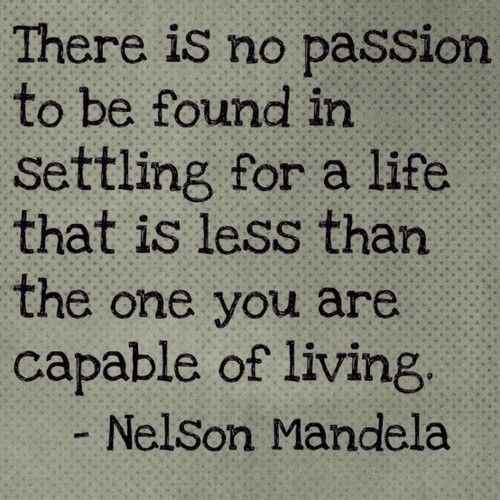 Sunday Inspiration Nelson Mandela