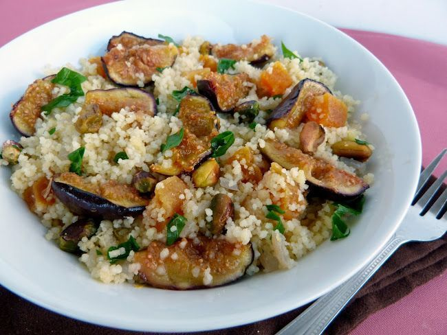Couscous with Pistachios and Apricots | Delicious dinners | Pinterest