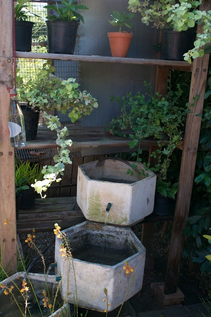 Simple Water Feature For The Garden Pinterest