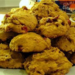 Cranberry-Pumpkin Cookies Allrecipes.com