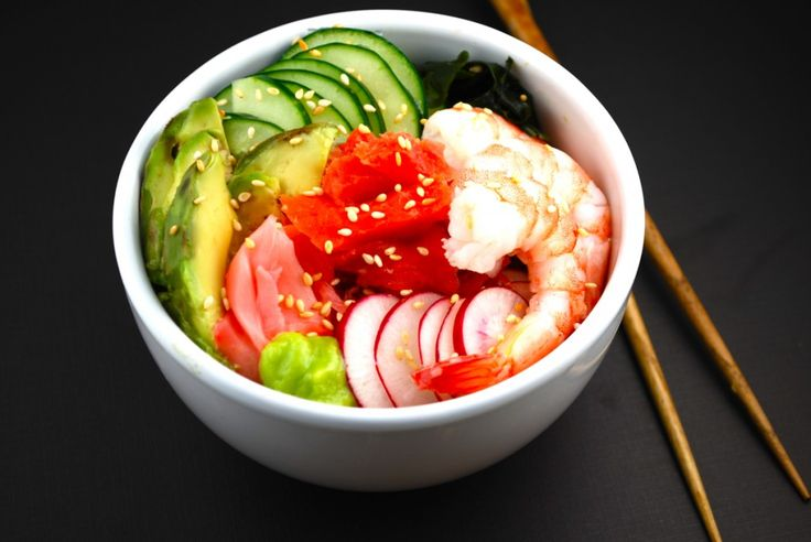 Deconstructed Sushi Bowl | FOOD. | Pinterest