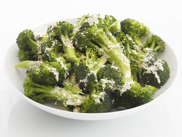 Sesame Broccoli #FNMag #myplate #veggies