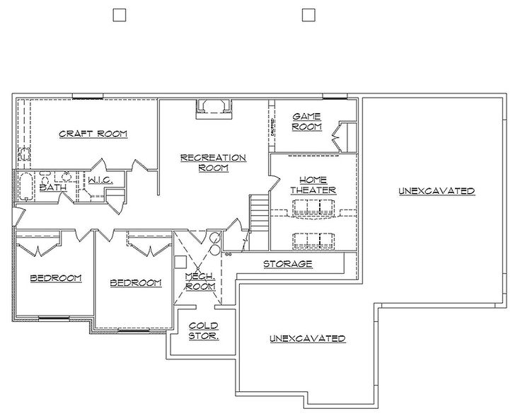 Stunning 27 images rambler floor plans with basement for Rambler floor plans with basement