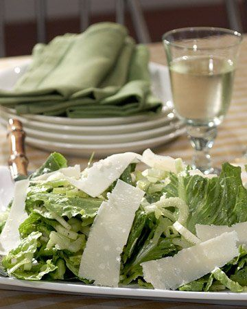 Romaine, Celery, and Parmesan Salad | Recipe