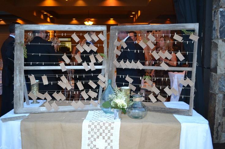 Wedding Escort Board Ideas : Escort boards via etsy