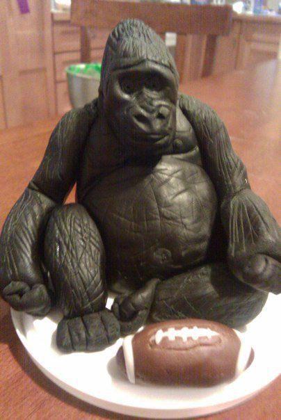 Gorilla Cake Topper