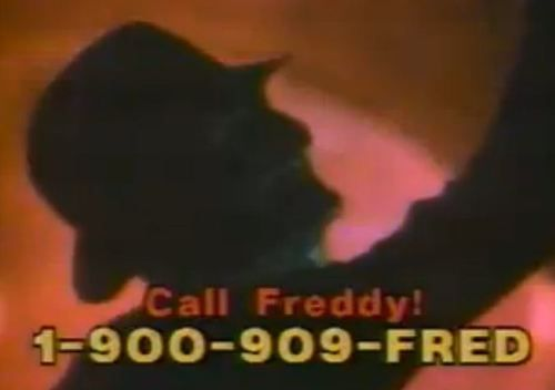 Call freddy 1 900 909 fred surreal spooky unexplained etc p