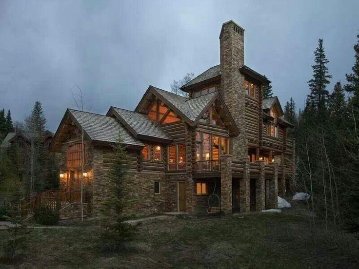 Dream Log Home Log Homes Mountain Homes Pinterest