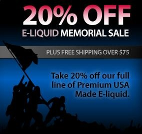 memorial day sale vape