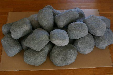 Pinterest discover and save creative ideas for Papier mache rocks