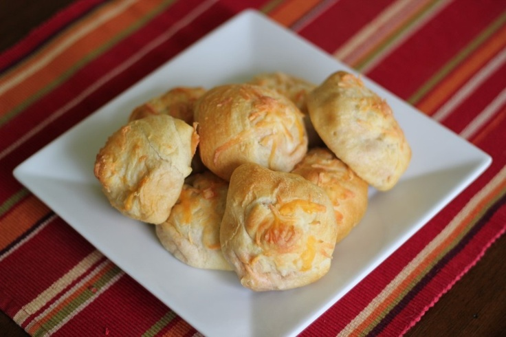 Chicken Enchilada Pockets | tummy time | Pinterest
