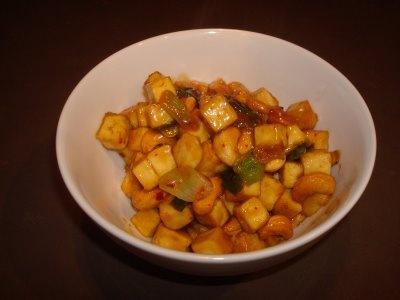 Orange Cashew Tofu