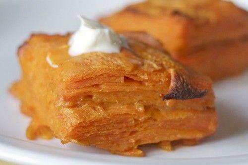 My friend Jeremiah Tower distilled a Southern sweet potato pone recipe ...