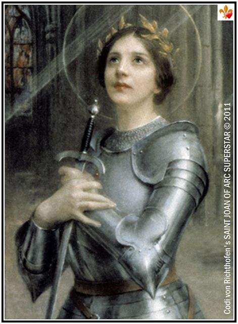 Joan of Arc - Classic Painting (detail) by Saint Joan of ...