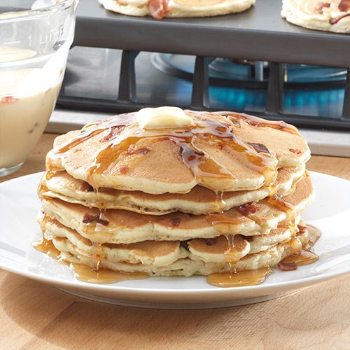 Mancakes - The Pampered Chef® Beer, bacon and pancakes. Who wouldn't ...