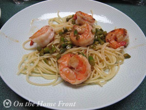 Garlic Scape Scampi, Required Ingredient Recipe Link Party #garlic # ...