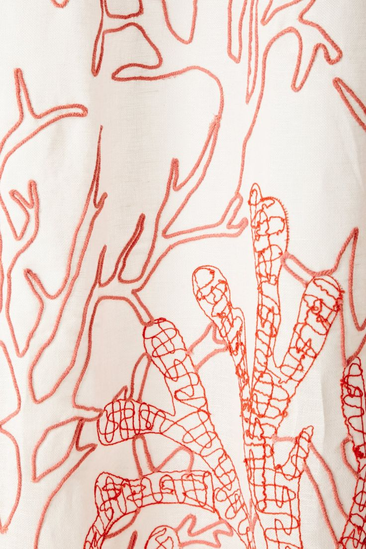 Octopus Shower Curtain Anthropologie Climbing coral shower curtain