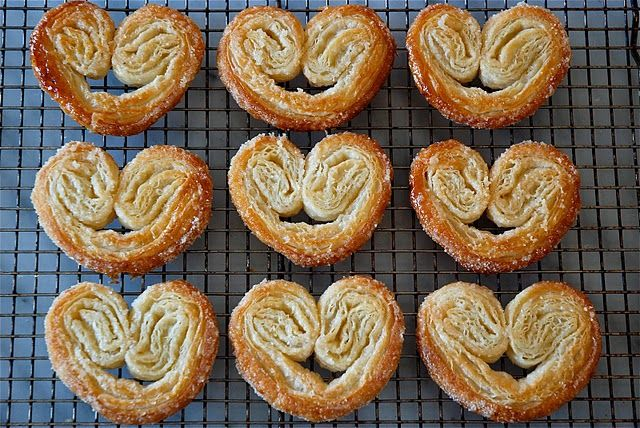 Sweet And Simple Palmiers Recipe — Dishmaps