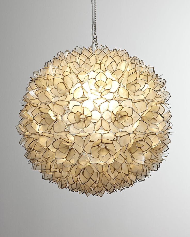 Robles Heritage Capiz Shell Pendant Light
