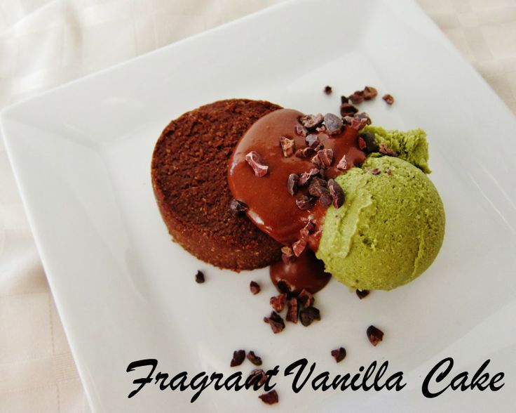 ... Cake: Superfood Fudgy Brownies with Emerald Mint Chip Ice Cream