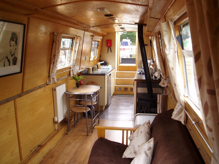 Narrowboat interior rv pinterest for Narrowboat interior designs