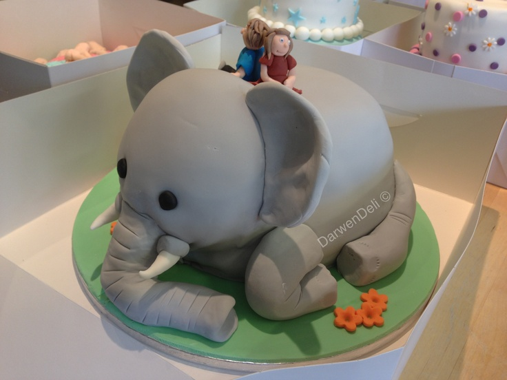 3d Cake Decorating Download : 3D Elephant Cake 3D Cakes Pinterest