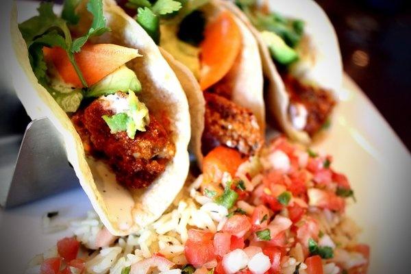 Buffalo oyster tacos | Favorite Recipes | Pinterest