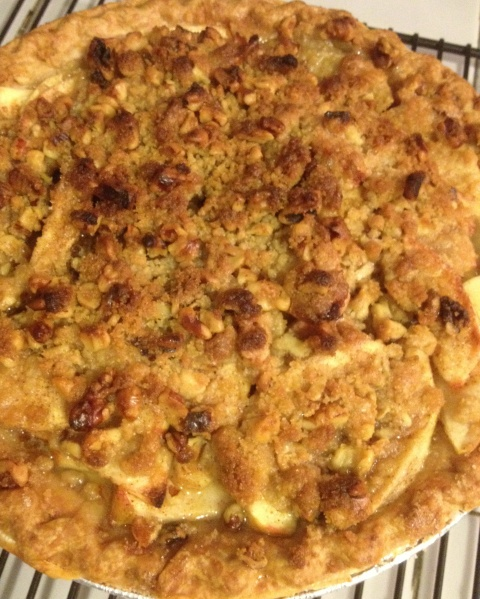 Apple Crumb Pie | Desserts | Pinterest