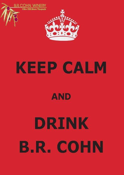 Keep Calm, wine is here