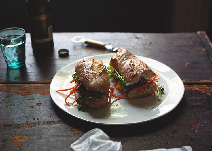 Pork Meatball Banh Mi » The Tart Tart | Food | Pinterest