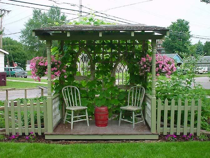 garden nook hideout outdoor living ideas pinterest