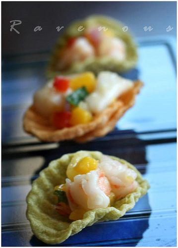 shrimp and scallop ceviche by Ravenous Couple, via Flickr