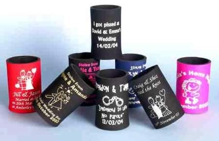Wedding Gift Stubby Holders : Personalised stubby coolers, we would like to get some of these made ...