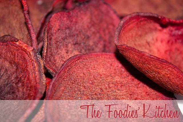 Baked Beet Chips by The Foodies' Kitchen, via Flickr