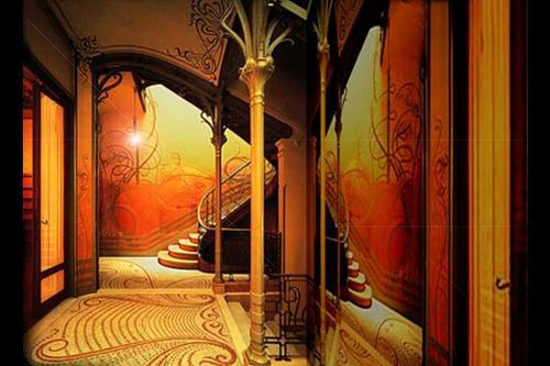 Art Nouveau Style Home Decor Pinterest