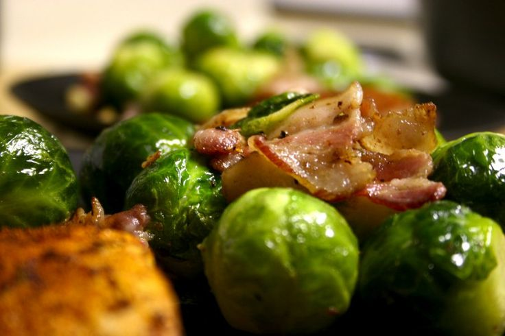 Pancetta Roasted Brussels Sprouts Recipe | Foodie File | Pinterest