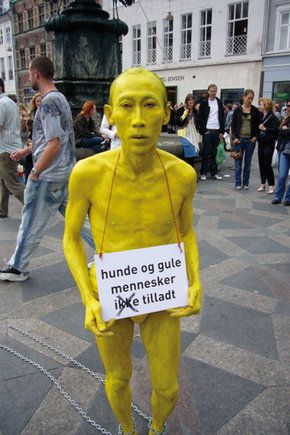 LeeWen, Journey of a Yellow Man Series (location #Copenhagen)