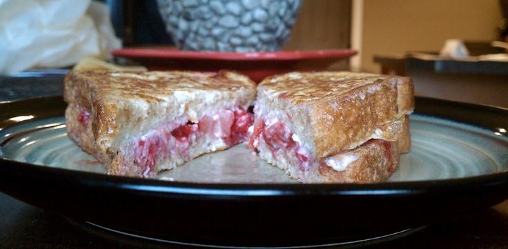 Stuffed French Toast Breakfast Sandwich | Food Worth having FUN with ...