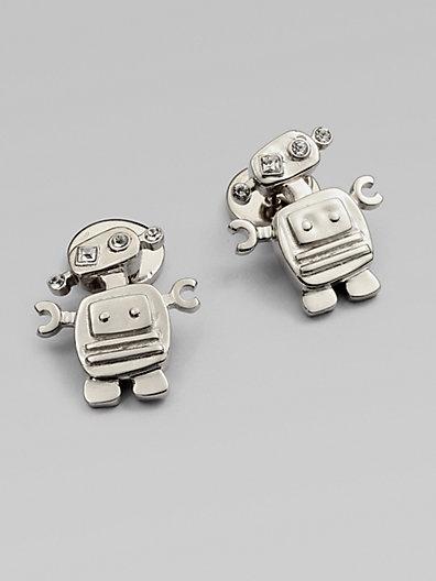 Prada - Sterling Silver Cuff Links - Saks.com