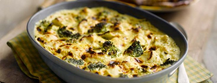 Cauliflower and Broccoli gratin | Slimming world | Pinterest