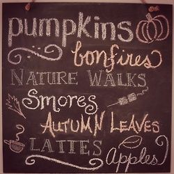 Everything I love and can't get enough of about FALL