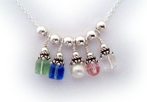 miu miu bags New Birthstone Charm Necklace  Kumihimo and beads