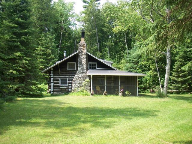 Log Cabin Lake Michigan Michigan Pinterest