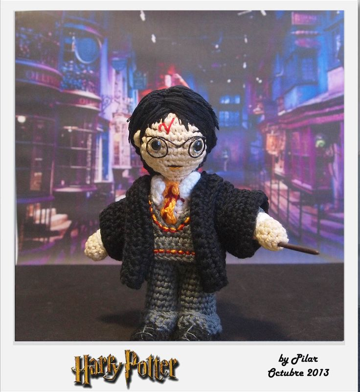 #amigurumi Harry Potter mom Pinterest