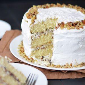 Lady Baltimore Cake | MyRecipes.com see also the filling recipe